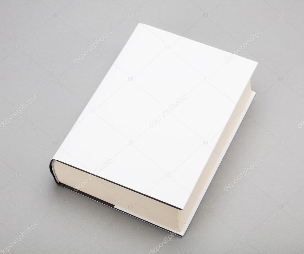 Book Cover White Zinfandel : Pusta okładka książki biały w — zdjęcie stockowe