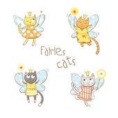 kočky sada