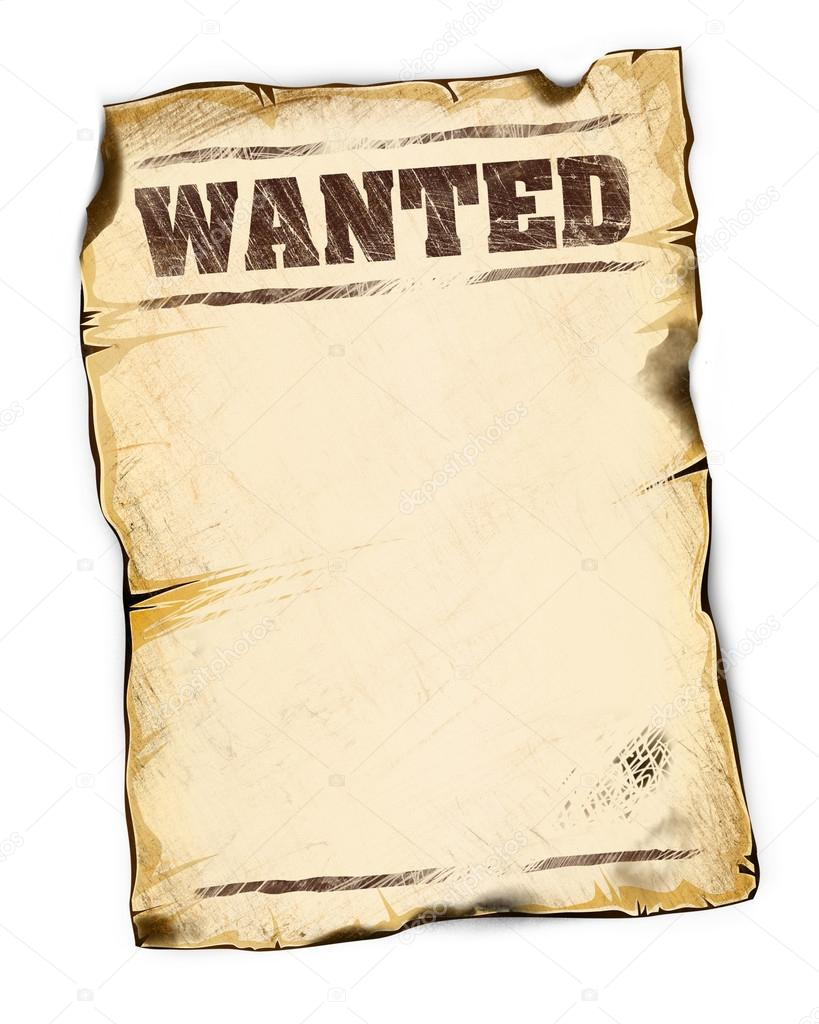 empty wanted poster - Ideal.vistalist.co