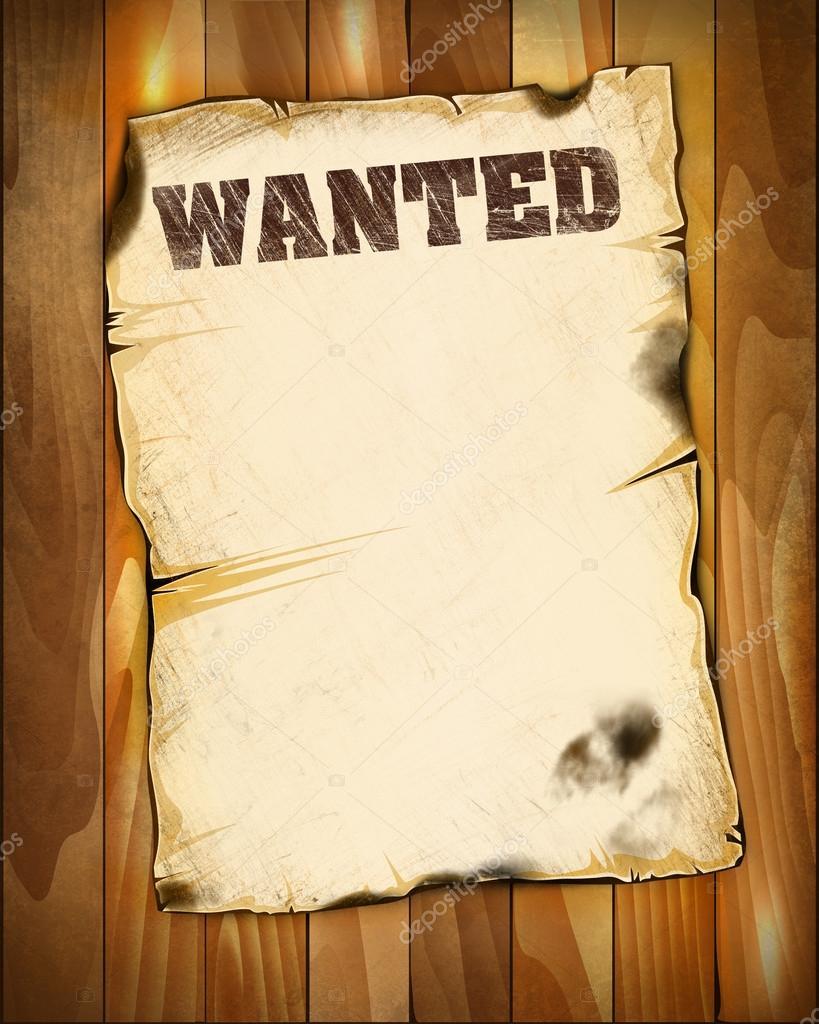 cartaz de procurado vazio fotografias de stock jinger 58518487. Black Bedroom Furniture Sets. Home Design Ideas