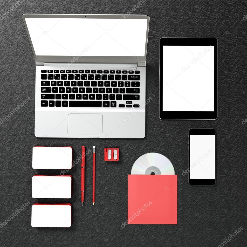 Negocios plantillas para branding — Foto de stock © SectoR_2010 ...