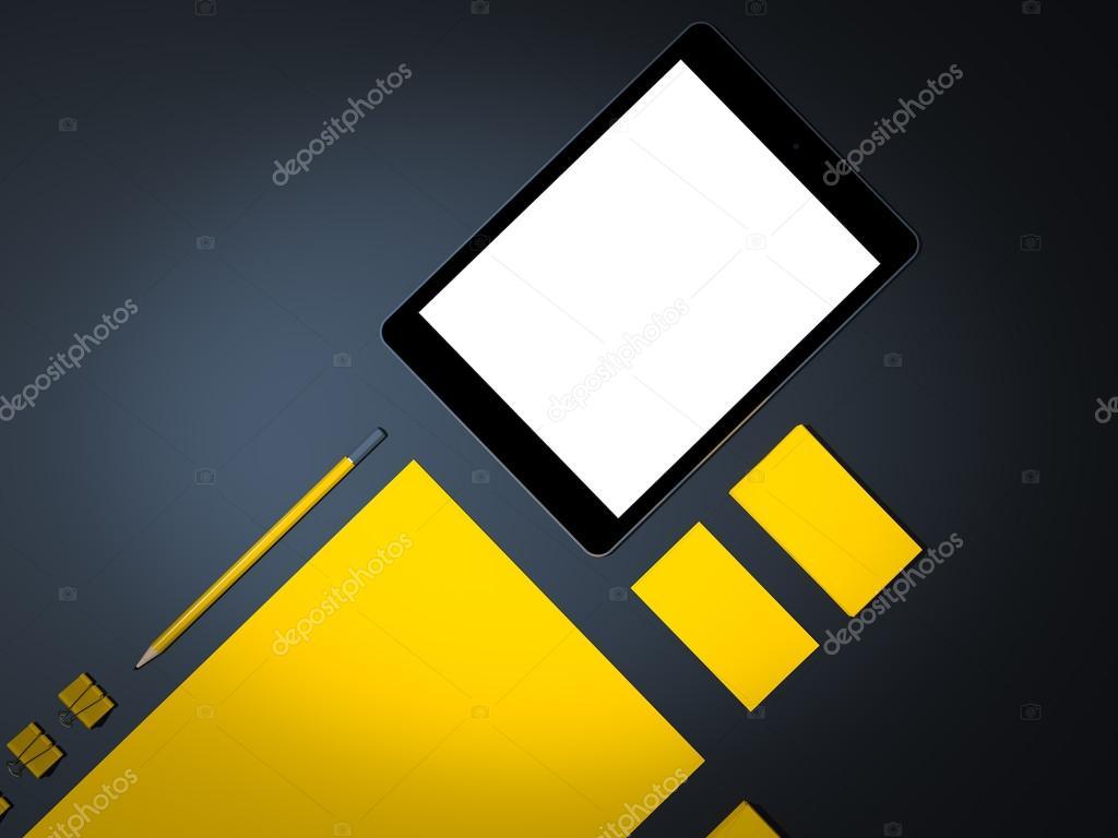 plantilla de negocio maqueta — Foto de stock © SectoR_2010 #69712869