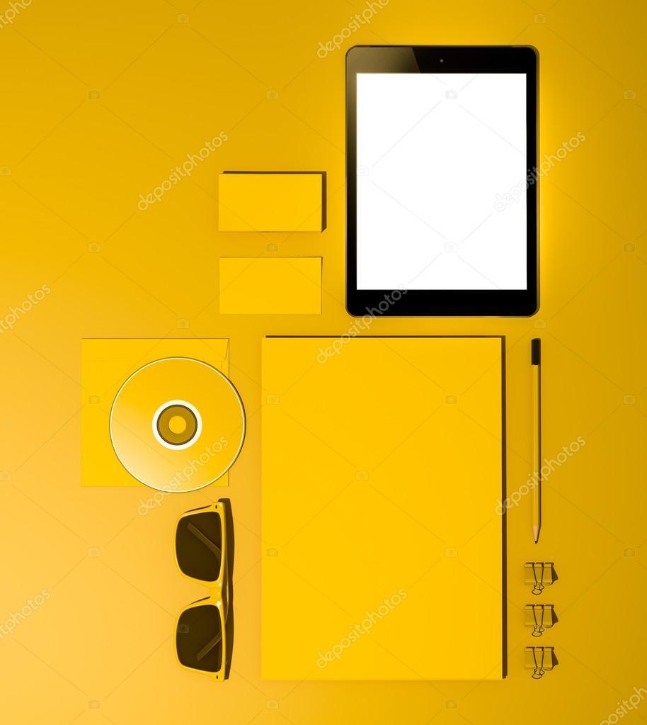 plantilla de negocio maqueta — Foto de stock © SectoR_2010 #69814391