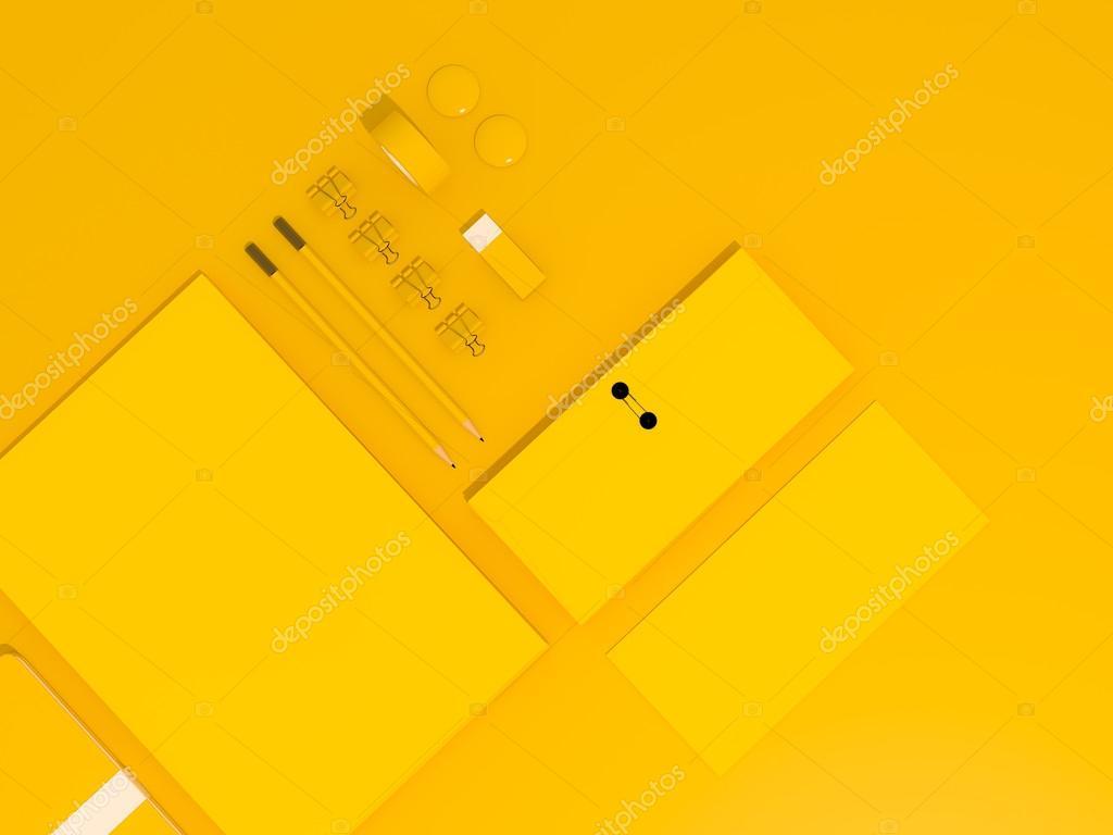plantilla de negocio maqueta — Foto de stock © SectoR_2010 #69817169