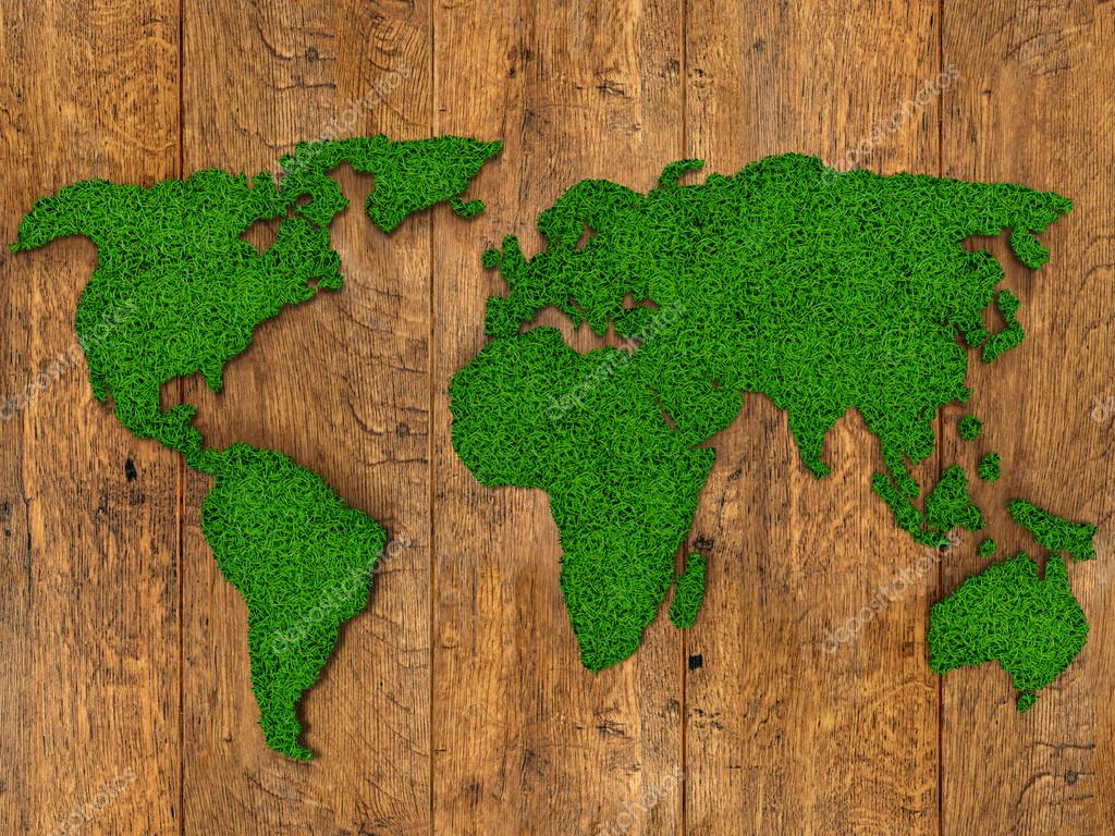 World map background with grass field and wood texture foto de world map background with grass field and wood texture foto de stock gumiabroncs