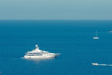 Bay with yachts. Porto cervo Italy