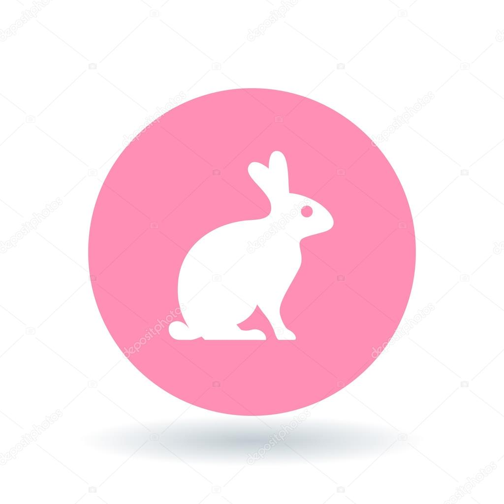 Bunny Rabbit Icon Bunny Rabbit Sign Bunny Rabbit Symbol Vector