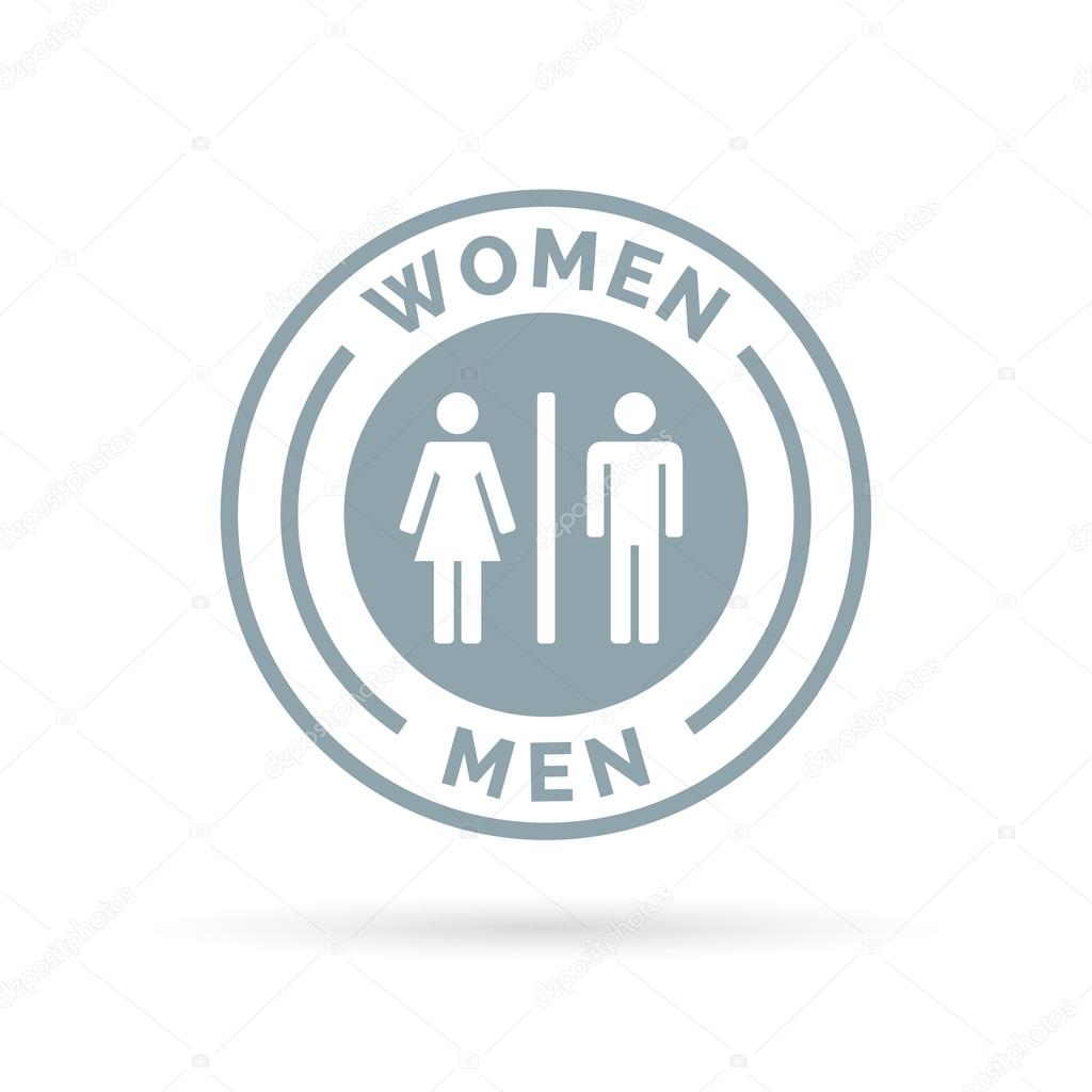 symbols uhd video restroom and showing videoblocks sign in female male shot hlxpcvcyz bathroom thumbnail