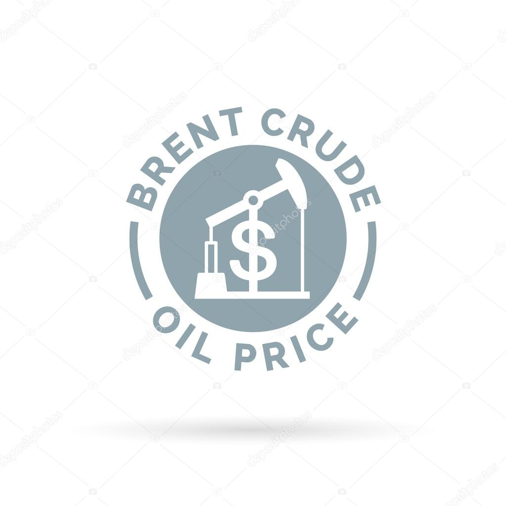 Price of oil icon with oil pump symbol dollar sign stock vector price of brent crude oil icon with oil pump symbol and dollar sign petrolgas trade cost vector illustration vector by themoderncanvas biocorpaavc Gallery