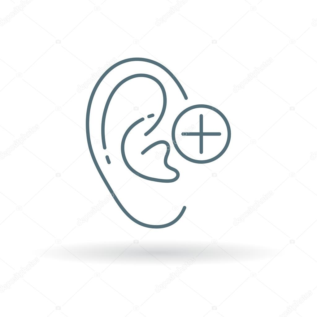 Ear Hearing Aid Icon Stock Vector Themoderncanvas 95363776