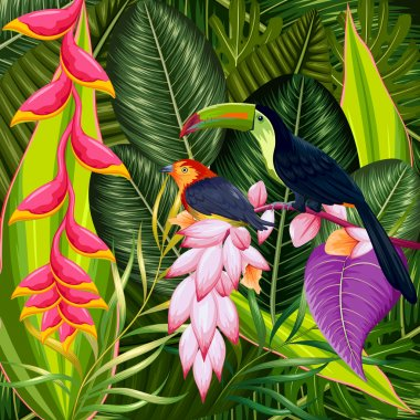 Exotic Tropical Background