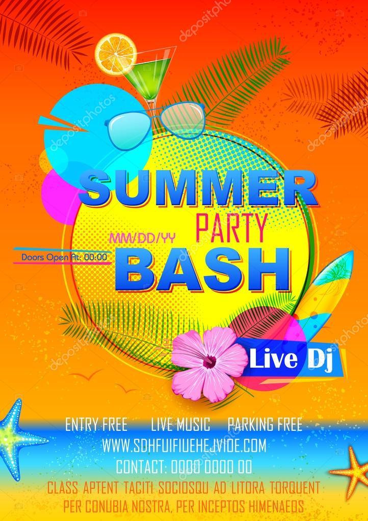 夏祭りポスター デザイン ストックベクター Vectomart 109489040
