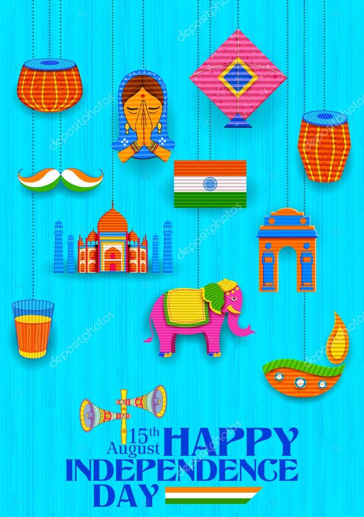Happy Independence Day Banner Stockvektor Vectomart 116720546