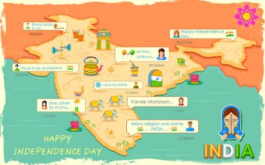 Happy Independence Day message