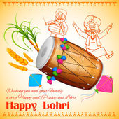 lohri happy background