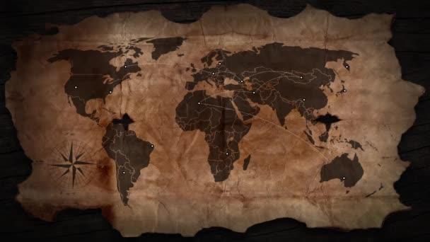 A forgalom a régi pénzügyi térképén