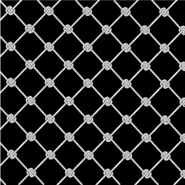 Texture a background from a rope network