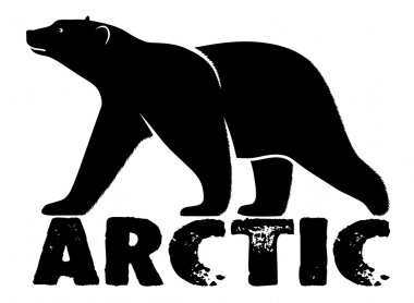 Polar bear symbol Arctic