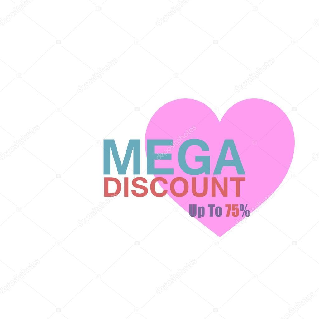Mega Rabatt Günstige Aufkleber Angebot Aufkleber Rabatt Label