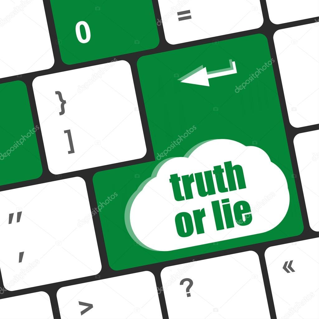 Resultado de imagem para tecla da mentira