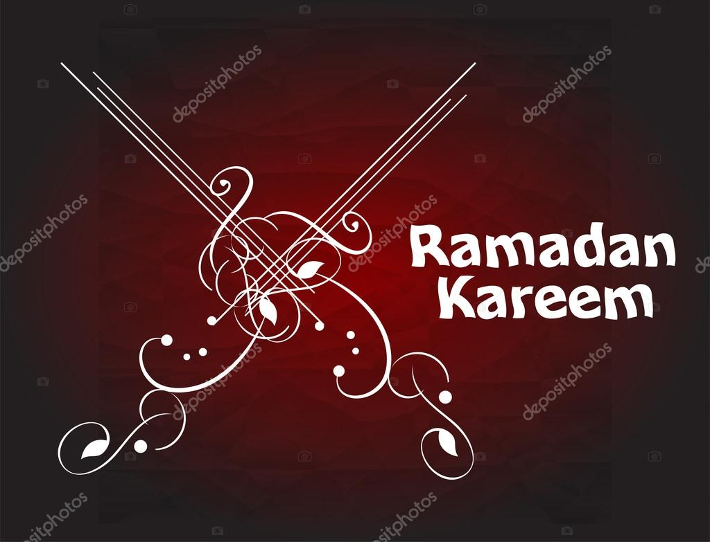Ramadan Kareem, greeting background — Stock Photo © fotoscool #77332004
