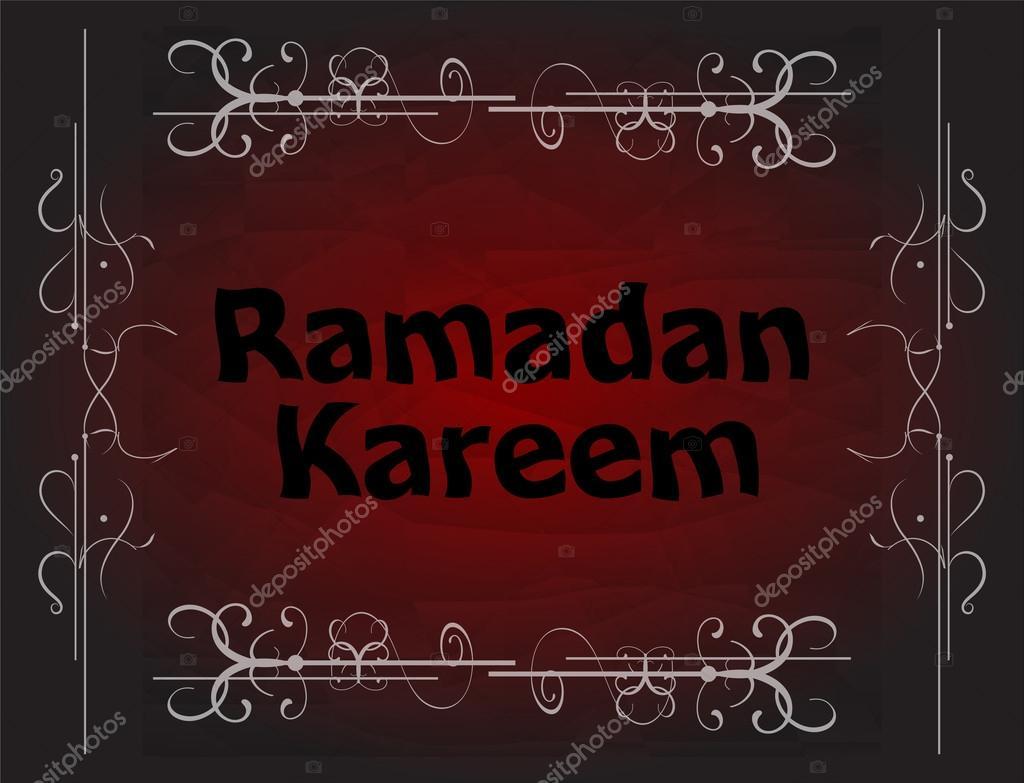 Ramadan Kareem Greeting Background Stock Photo Fotoscool 77333466