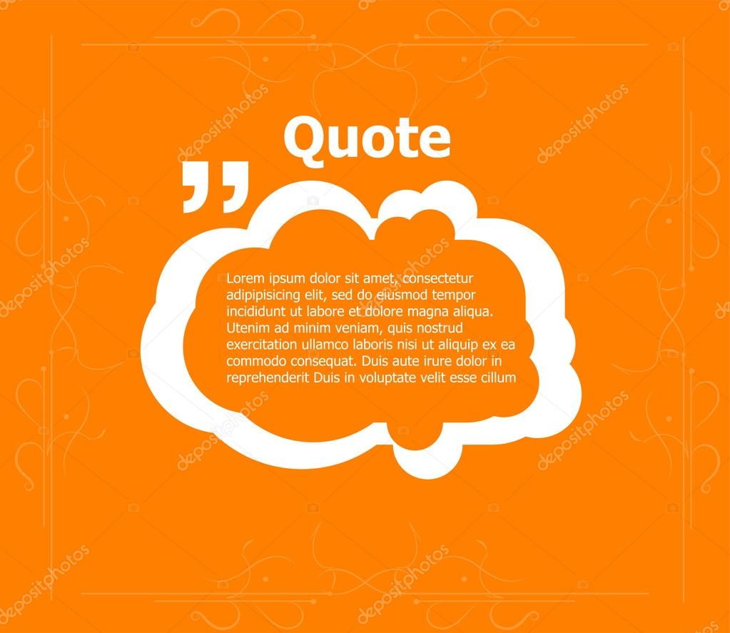 Quote blank template quote form quote bubble empty template quote blank template quote form quote bubble empty template circle business card reheart Gallery