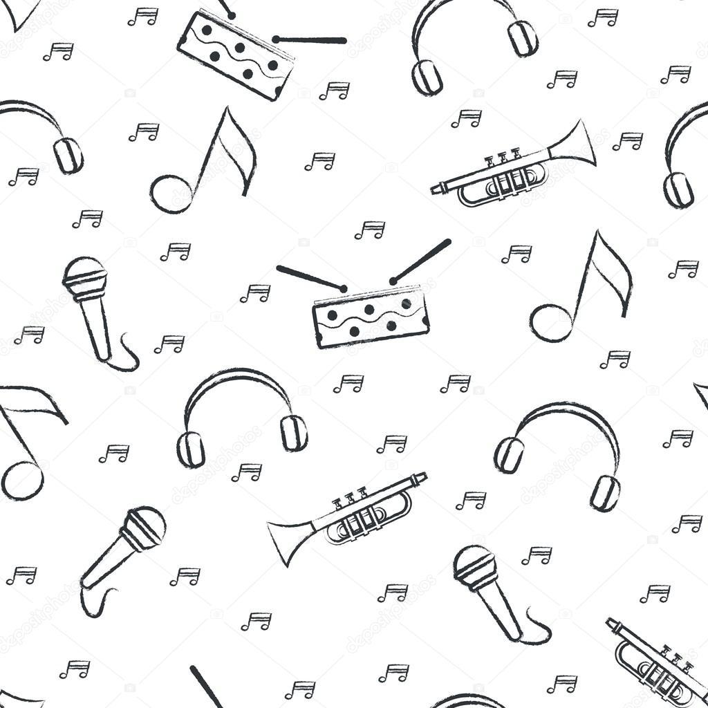 Best Wallpaper Music Pattern - depositphotos_104216540-stock-illustration-seamless-pattern-childrens-black-felt  Best Photo Reference_546727.jpg
