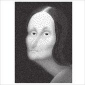 Fotografie Gioconda halftone portrait