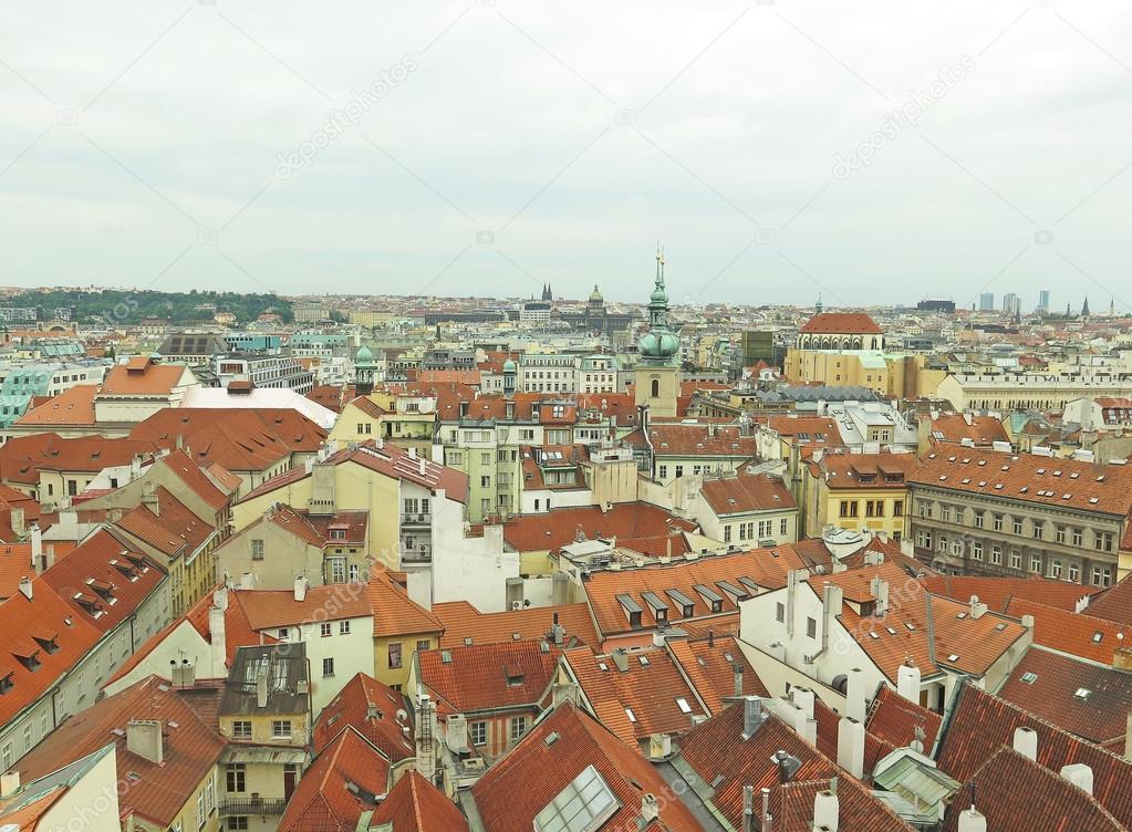 チェコスロバキアのプラハ市の街...