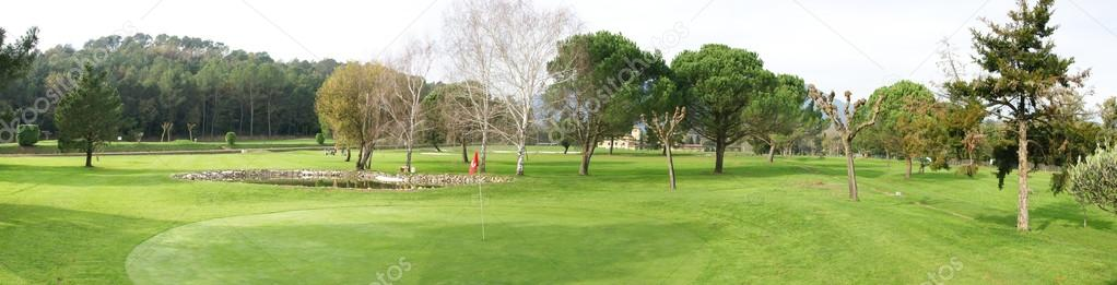 Golf course and club