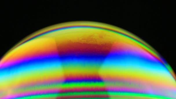 barevné mýdlová bublina