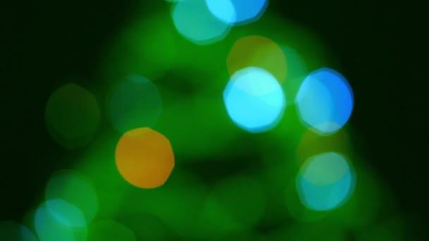 bokeh rozsvítí světla