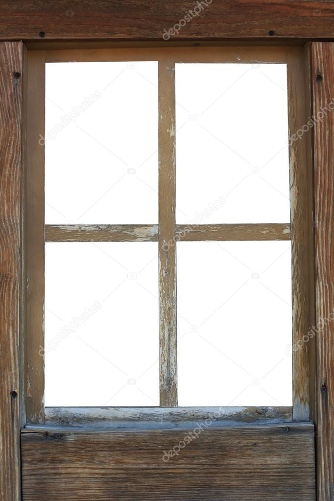 Ancien Cadre De Fenêtre En Bois Photographie Bazil 79789294