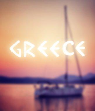 Summer vacation in Greece
