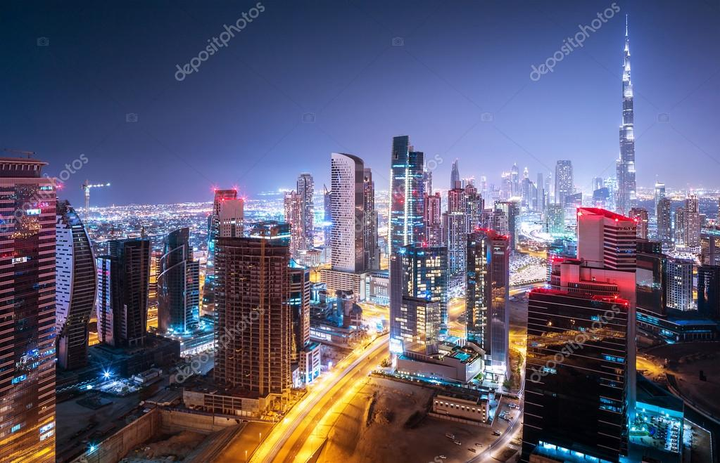 Фотообои Beautiful night cityscape