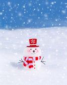 roztomilý malý sněhulák