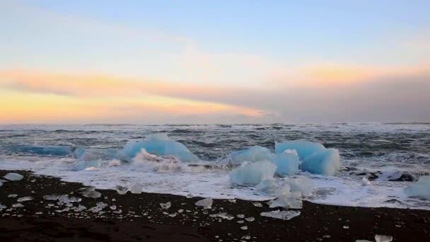 Wunderschöne Landschaftsansicht des Nordatlantik. Full-Hd-Video