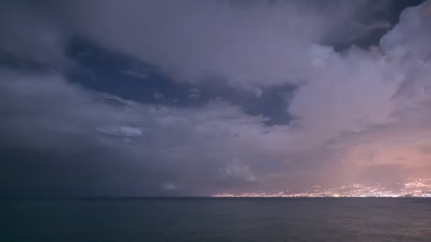 Beautiful sea landscape. Full HD Video