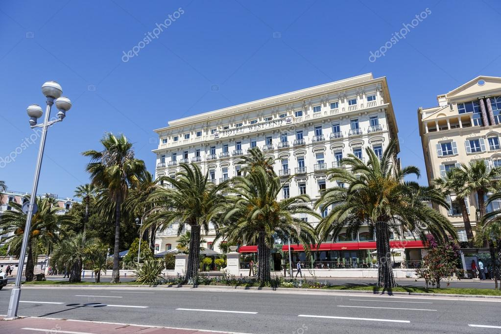 The Hotel West End and Promenade des Anglais, Nice