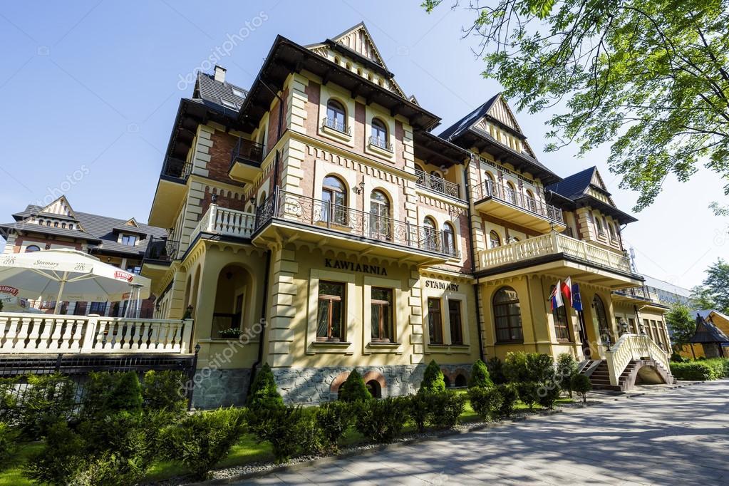 Grand Hotel Stamary In Zakopane Poland Stock Editorial Photo C Marek Usz 77149405