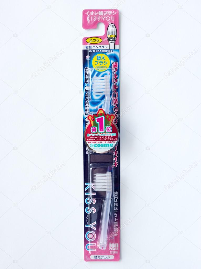 Japanese toothbrush Kiss You.