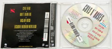 CD GUNS N ROSES  Civil War (1993).