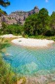 Fotografie Beceite řeka Ulldemo v Teruel, Španělsko