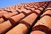 Arabská střešní krytina se vzorkem textury v Teruel
