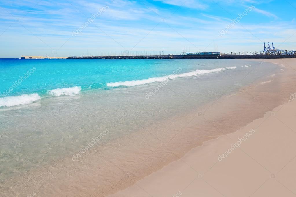 Spiaggia di malvarrosa di valencia las arenas spagna for Spiaggia malvarrosa valencia