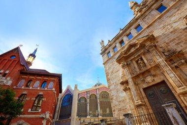 Valencia Santos Juanes Church in Spain