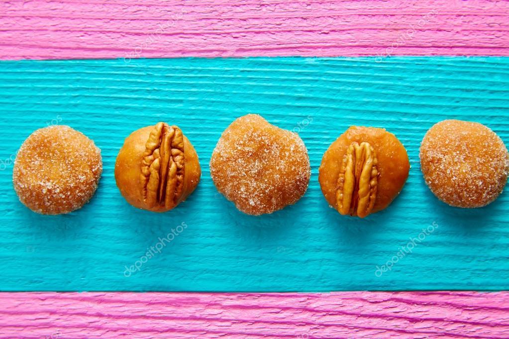 Dulces de caramelo mexicanos | Pecan de cajeta caramelo