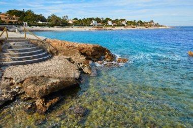 Denia Las Rotas in Mediterranean sea Alicante