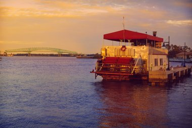 Steamboat in Jacksonville Florida USA
